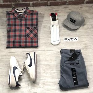 RVCA Button-Up